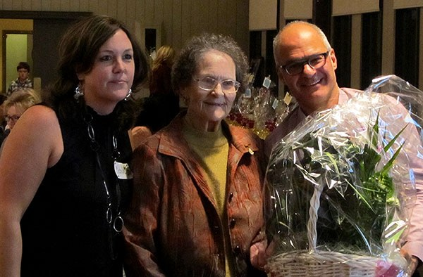 Anne Walton 45 years receiving plant
